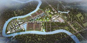 Dự án xanh với thiết kế hệ thống công viên sông nước