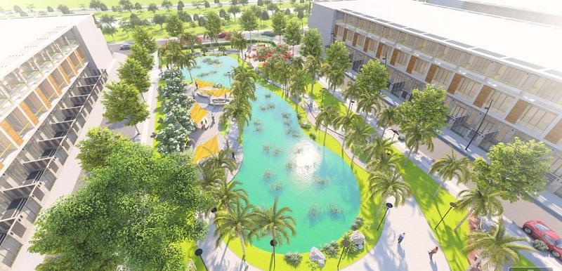 Hồ bơi đẳng cấp của dự án
