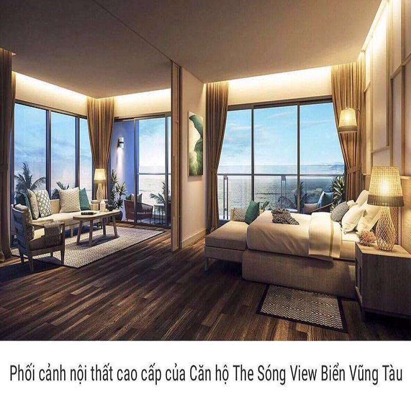Thiết kế các căn hộ của dự án the Sóng Vũng Tàu