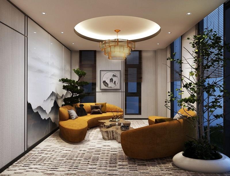 Thiết kế căn hộ sang trọng